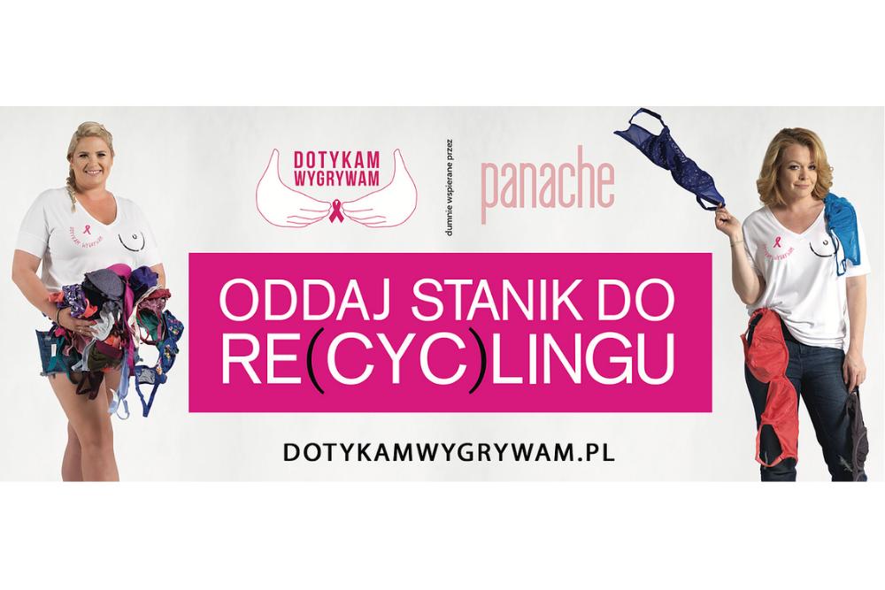 Wtórpol wspiera kampanię Dotykam=Wygrywam, promującą zdrowie piersi