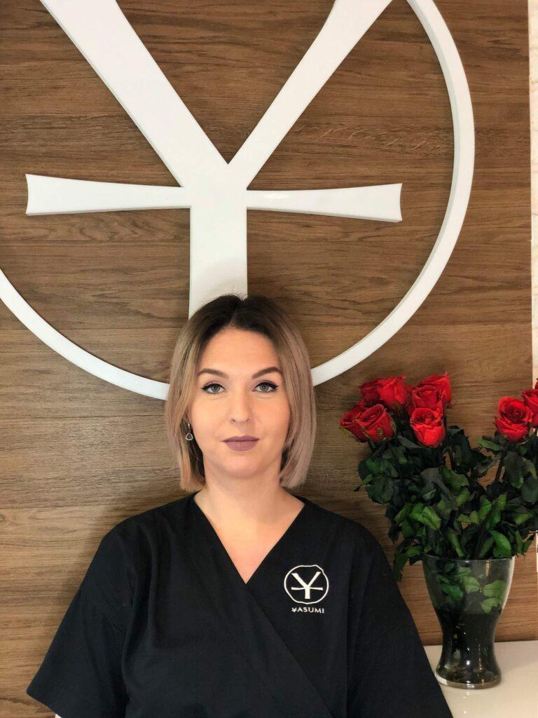 Magda Ziemak - TOP EXPERT oraz manager YASUMI Powiśle Warszawa