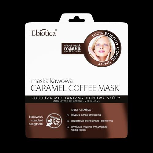 Caramel Coffee Mask – maska kawowa – pobudzenie mechanizmu odnowy skóry