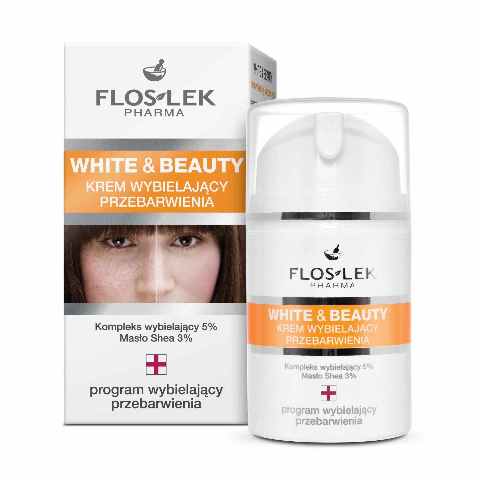 White&Beauty krem wybielający przebarwienia